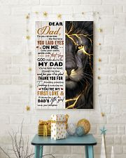 THANK YOU FOR BEING MY DAD 16x24 Poster lifestyle-holiday-poster-3