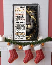 THANK YOU FOR BEING MY DAD 16x24 Poster lifestyle-holiday-poster-4