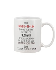 PERFECT GIFT FOR  FATHER-IN-LAW Mug front