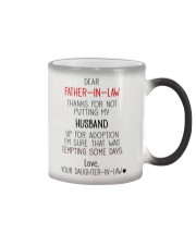 PERFECT GIFT FOR  FATHER-IN-LAW Color Changing Mug thumbnail