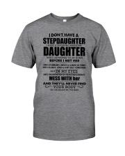 Best T-shirt for stepdad Classic T-Shirt front