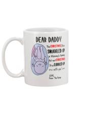 Dear Daddy 3 Xmas Mug back