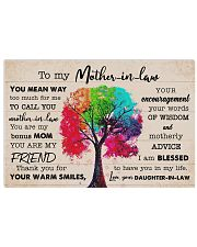 Thank you for your warm smiles 17x11 Poster front