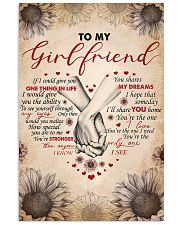 TO MY GIRLFRIEND 16x24 Poster front