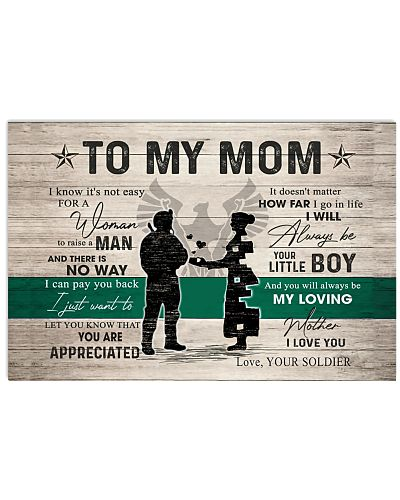 TO MY MOM - SOLDIER MOM