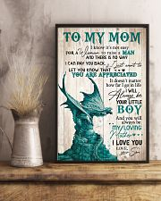 To my mom I know It's not easy 11x17 Poster lifestyle-poster-3