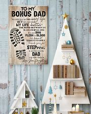 TO MY BONUS DAD 16x24 Poster lifestyle-holiday-poster-2