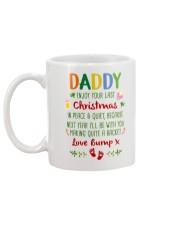 Making Quite Racket Mug Christmas Gift For Dad Mug back