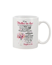 Thank you for your warm smilesb - Gift for MIL  Mug front