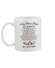 World's Best Mother-In-Law Mug  Mug back