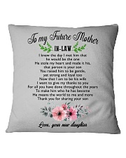 World's Best Mother-In-Law Mug  Square Pillowcase thumbnail