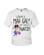 Where's mah gal Youth T-Shirt front