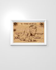 TO MY DAD - YOU ARE THE WORLD 24x16 Poster poster-landscape-24x16-lifestyle-02