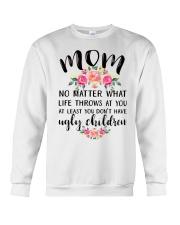 MOM'S GIFT FROM DAUGHTER Crewneck Sweatshirt thumbnail