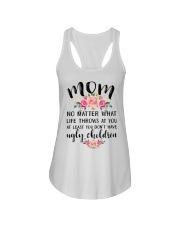 MOM'S GIFT FROM DAUGHTER Ladies Flowy Tank thumbnail