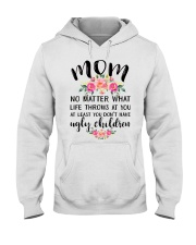 MOM'S GIFT FROM DAUGHTER Hooded Sweatshirt thumbnail