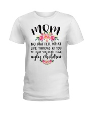 MOM'S GIFT FROM DAUGHTER Ladies T-Shirt thumbnail