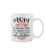 MOM'S GIFT FROM DAUGHTER Mug front