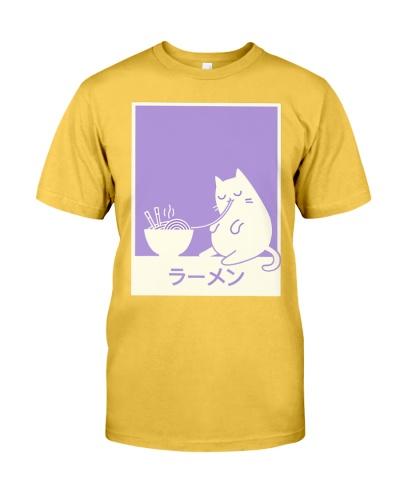Ramen Kawaii Japanese Cat