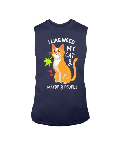 420 Weed Cat Pot Kitten Cannabis Leaf