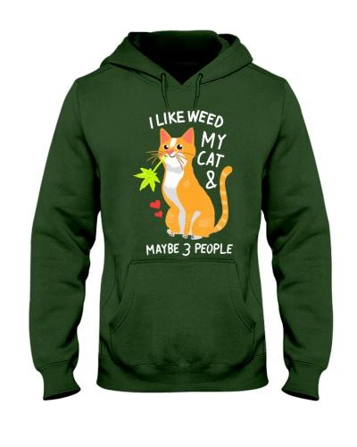 420 Weed Cat Pot Kitten Cannabis Leaf