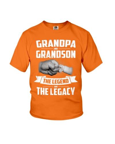 Grandpa And Grandson The Legend And The Legacy