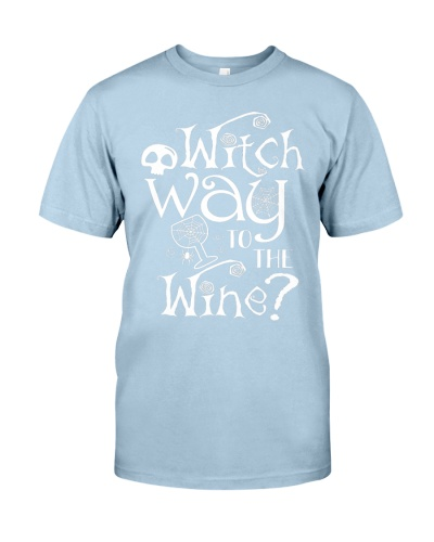 Witch Way To The Wine Halloween Wine Lover