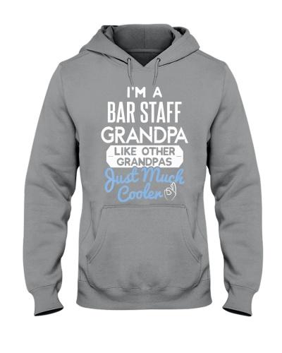 Cool Bar Staff Grandpa Fathers Day