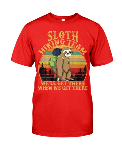 Sloth Hiking Team We Will Get There When We Get