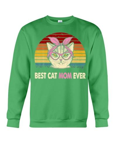 Best Cat Mom Ever Vintage Cat Mama