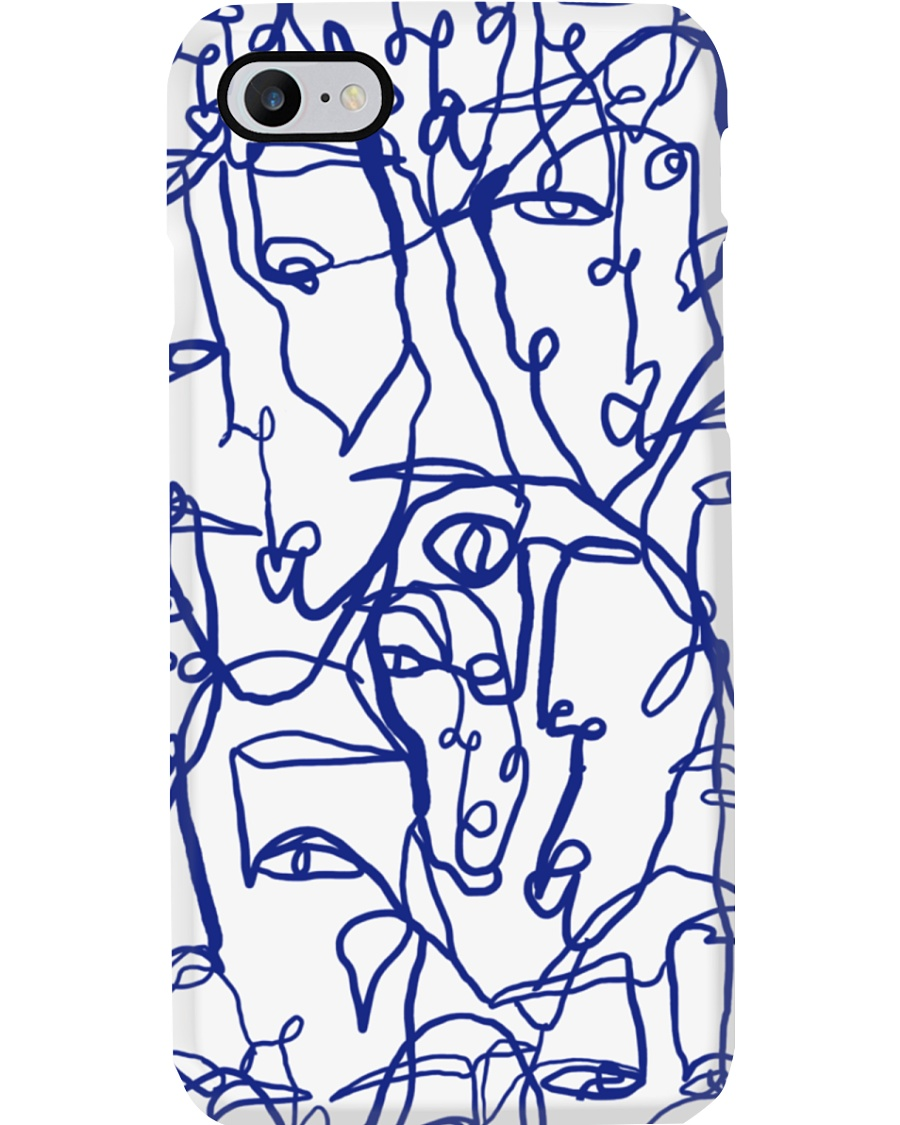 LIL UGLIES SPRING BLUE Phone Case