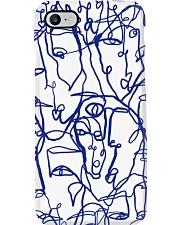 LIL UGLIES SPRING BLUE Phone Case i-phone-7-case