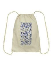 LIL UGLIES SPRING BLUE Drawstring Bag thumbnail