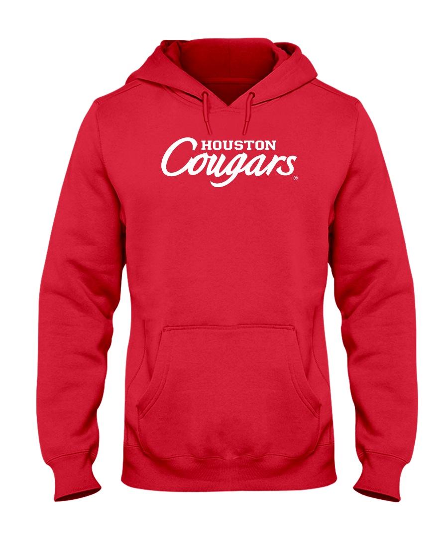 de471696697 University of Houston Cougars Wordmark Hooded Sweatshirt